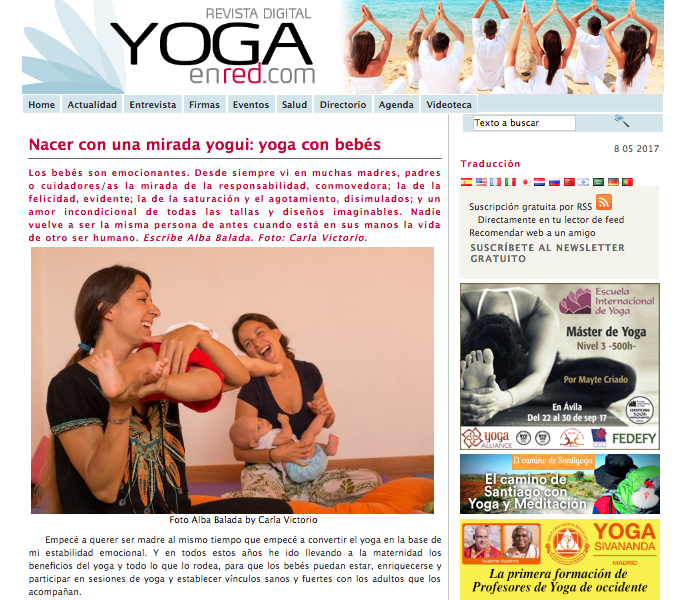 Press for Famara Yoga